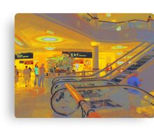 Hanes Mall Canvas Print