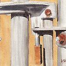 Gate Lock by Ken Powers