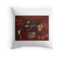 Threepenny Opera Infographic Throw Pillow