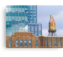 Glass, Brick and a Bottle of Milk Metal Print
