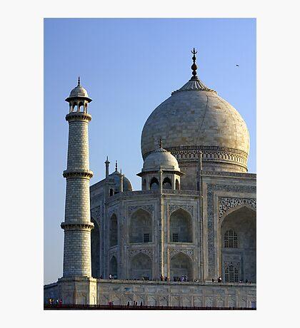 Taj Mahal (Section) Photographic Print