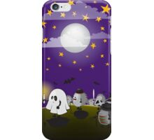 halloween hedgehogs party gang iPhone Case/Skin
