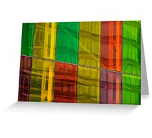 Panels of Color Greeting Card