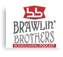 Brawling Brothers Design 4 Canvas Print