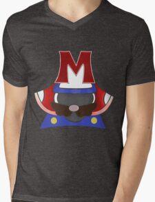 Mario: Kabuto Mens V-Neck T-Shirt