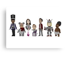 Abed's Uncontrollable Christmas - Group Canvas Print