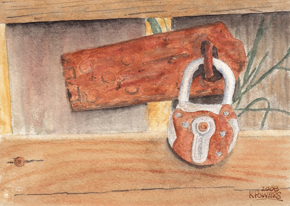 Fence Lock by Ken Powers