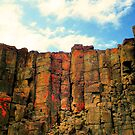 Rock Columns by Beckon