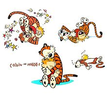 Calvin and Hobbes all moment in day by ReallityArtwork