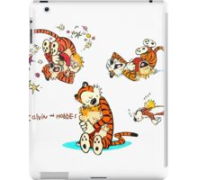 Calvin and Hobbes all moment in day iPad Case/Skin