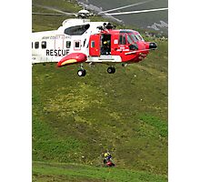 Mountain Rescue Photographic Print