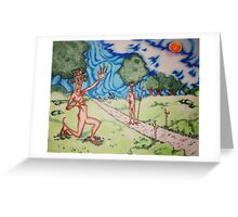 Royalty on the great lawn Greeting Card