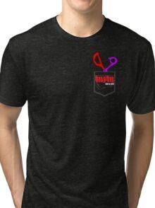 Kill la Kill scissors Tri-blend T-Shirt