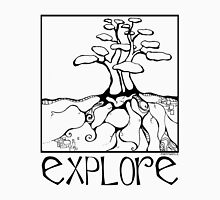 Fairy Tree No. 16 - Explore Womens Fitted T-Shirt