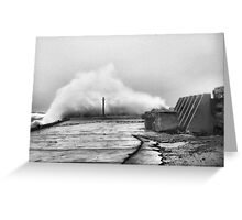 Perfect Storm Greeting Card