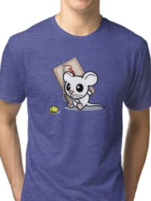 Mouse Trapped Tri-blend T-Shirt