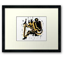Valkyrie Leona Ink Framed Print