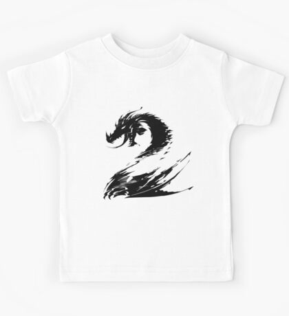 Dragon GW2 Black Kids Tee