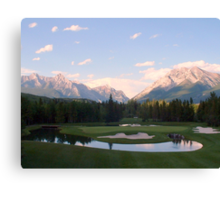 Hole In One Canvas Print