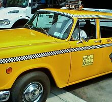 New York Taxi Cab  by clarebearhh