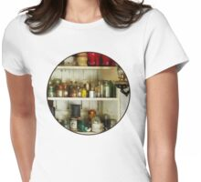 Hurricane Lamp in Pantry Womens Fitted T-Shirt
