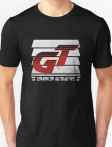 Edmonton Auto - Red & White - Slotted Up T-Shirt