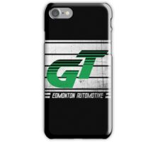 Edmonton Auto - Green & White iPhone Case/Skin