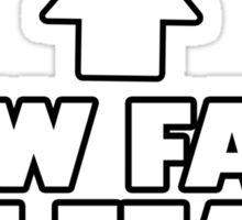 New Face Of Fear Sticker