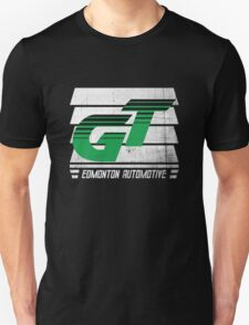Edmonton Auto - Green & White - Slotted Up T-Shirt