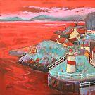 Crinan Lighthouse by scottnaismith
