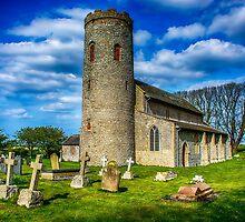 St Margarets Church Burnham Norton Norfolk  by Chris Thaxter