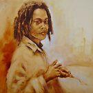 Young artist by Mick Kupresanin