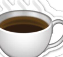 Emoji Coffee Sticker