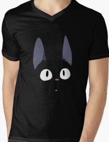 Jiji the Cat! Mens V-Neck T-Shirt