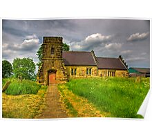St Mary Church - Marton in the Forest Poster