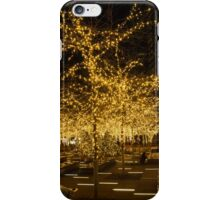 A Little Golden Garden in the Heart of Manhattan, New York City  iPhone Case/Skin