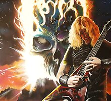 dave munstaine,..megadeth by imajica
