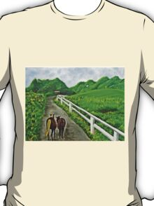 Just a Couple of Asses...Down On Oko's Farm T-Shirt