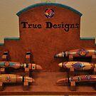 Custom knives on display by mltrue