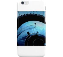 Blue Louvre. iPhone Case/Skin