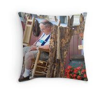 Shop Hopping Can Be a Drag... Throw Pillow