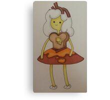 Breakfast princess Canvas Print
