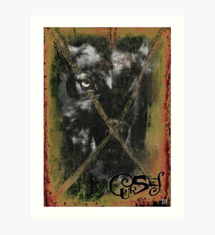 CURSES COVER ART Art Print