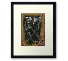 CURSES COVER ART Framed Print