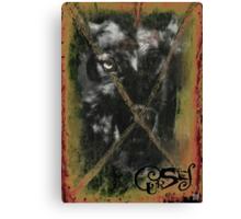 CURSES COVER ART Canvas Print