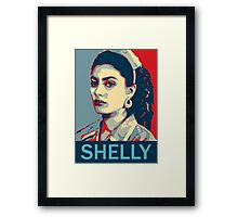 Shelly Johnson - Twin Peaks Framed Print