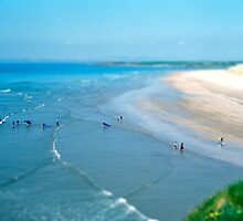 Tullan Strand Tilt-Shift by cormacphelan