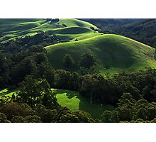 Green waves of Gippsland Photographic Print