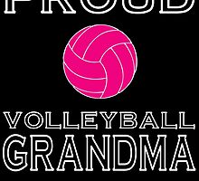PROUD VOLLEYBALL GRANDMA by fandesigns
