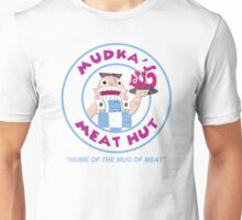 Mudka's Meat Hut Logo Unisex T-Shirt